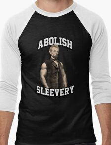 Abraham Lincoln - Abolish Sleevery Men's Baseball ¾ T-Shirt