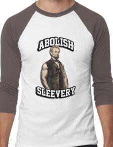 Abraham Lincoln - Abolish Sleevery Men's Baseball ¾ T-Shirt
