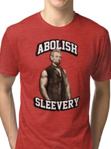 Abraham Lincoln - Abolish Sleevery Tri-blend T-Shirt