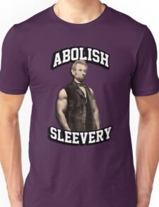 Abraham Lincoln - Abolish Sleevery Unisex T-Shirt