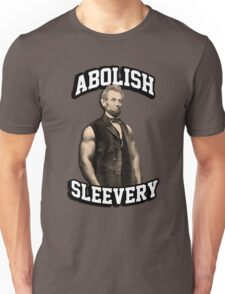 Abraham Lincoln - Abolish Sleevery Unisex T-Shirt