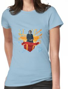 All I want for Christmas is Jamie Fraser!  Womens Fitted T-Shirt