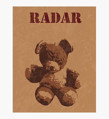 Radar O'Reilly M*A*S*H Teddy Photographic Print