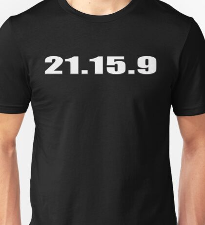 21 15 9 CROSSFIT INSPIRED SHIRT Unisex T-Shirt