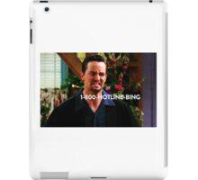 Chandler Bing Friends TV iPad Case/Skin