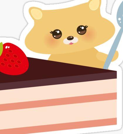 Cute Hamster  Sticker