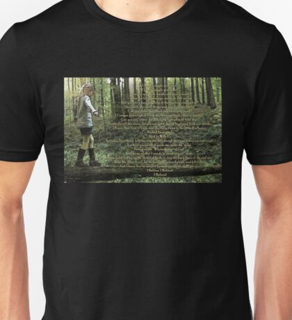 Forest Child Psalm Unisex T-Shirt