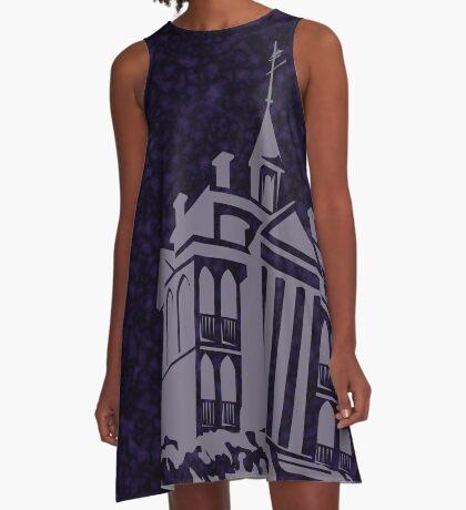 Haunted Mansion - West Coast Edition A-Line Dress