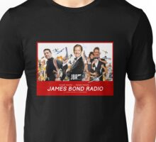 Roger Moore on James Bond Radio - Retro Movie Poster Unisex T-Shirt