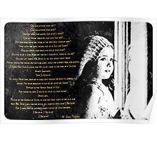 Window Child Psalm Poster