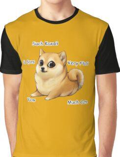 Kawaii Doge Graphic T-Shirt