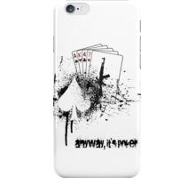 AK47 Poker iPhone Case/Skin