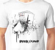 AK47 Poker Unisex T-Shirt