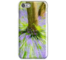 Bluebell Woods Abstract. iPhone Case/Skin