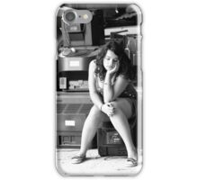 Portrait of a Teenager 28 iPhone Case/Skin