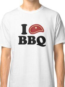 I Love BBQ Classic T-Shirt