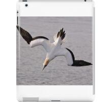 Diving Gannet iPad Case/Skin