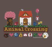 Animal Crossing home sampler One Piece - Short Sleeve