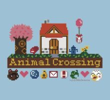 Animal Crossing home sampler by dubukat