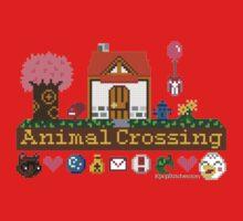 Animal Crossing home sampler Baby Tee