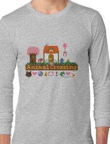 Animal Crossing home sampler Long Sleeve T-Shirt