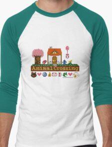 Animal Crossing home sampler Men's Baseball ¾ T-Shirt