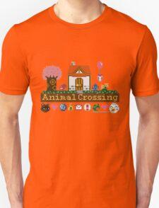 Animal Crossing home sampler Unisex T-Shirt