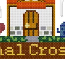 Animal Crossing home sampler Sticker