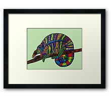 Unconventional Reptile Framed Print