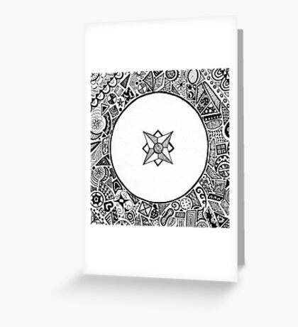 Compass Points Greeting Card