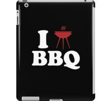 I Love BBQ iPad Case/Skin