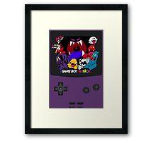 Haunted Game Boy Luigi's Mansion Ver. Framed Print