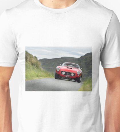 The Three Castles Welsh Trial 2014 - Ferrari 250 GT SWB Unisex T-Shirt