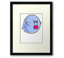 Large Boo Framed Print