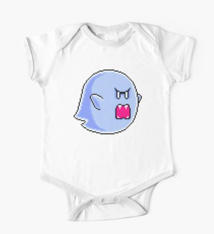 Large Boo One Piece - Short Sleeve