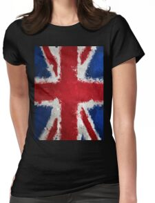 Uk Flag Womens Fitted T-Shirt