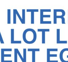 The Internet Is A Lot Like Ancient Egypt Sticker