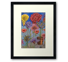 Ilonas' Garden Framed Print