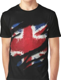 UK Flag Art Graphic T-Shirt
