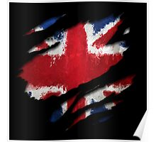 UK Flag Art Poster
