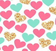 Heart pops Sticker