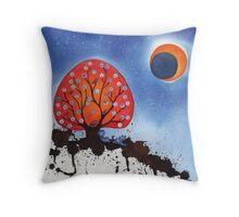 Moongazing Throw Pillow
