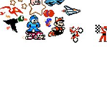 8-bit Race by Funkymunkey