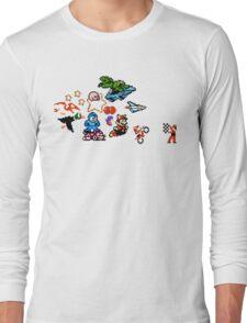 8-bit Race Long Sleeve T-Shirt