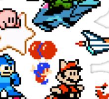 8-bit Race Sticker