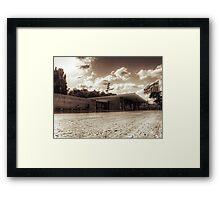Va de Mies Framed Print