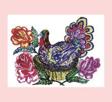 Painted Turkey Bird One Piece - Long Sleeve