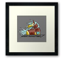 Spark Industries Framed Print