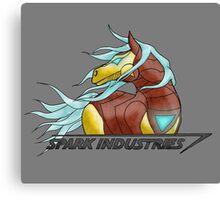Spark Industries Canvas Print