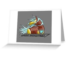 Spark Industries Greeting Card